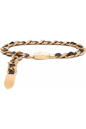 Balmain Damen Gürtel - Leather chain belt