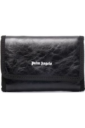 Palm Angels Crinkle texture wallet