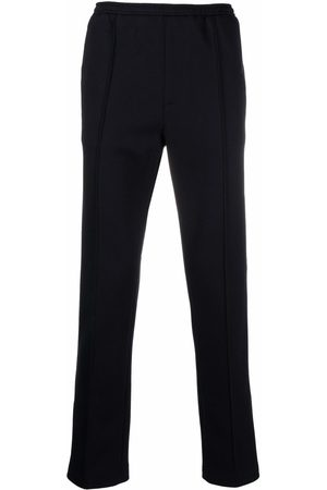 Palm Angels Fitted side stripe track pants
