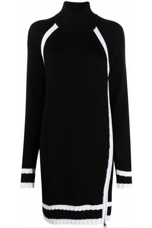 Karl Lagerfeld Two-tone knitted dress