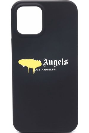 Palm Angels Handy - IPhone 12 Pro logo-print case