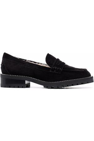 Jimmy Choo Deanna crystal-embellished loafers
