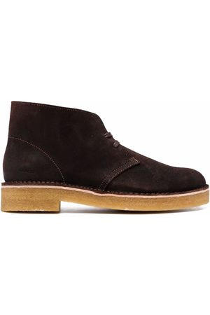 Clarks Herren Stiefel - Lace-up suede boots
