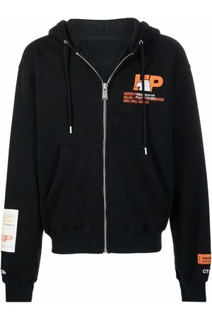 Heron Preston Chest logo-print hoodie