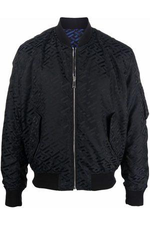 Versace Herren Sommerjacken - La Greca pattern bomber jacket