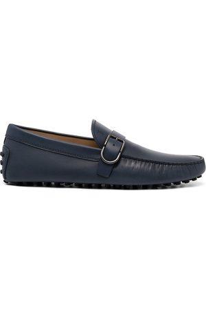 Tod's Herren Halbschuhe - Gommino buckle leather loafers