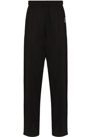 Isabel Marant Inays embroidered logo track pants