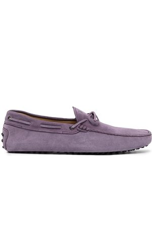 Tod's Gommino lace-up suede loafers