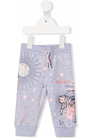 Kenzo Kids Slips & Panties - Logo tracksuit bottoms