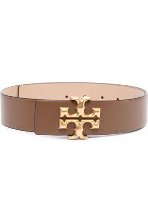 Tory Burch Damen Gürtel - Eleanor buckled leather belt