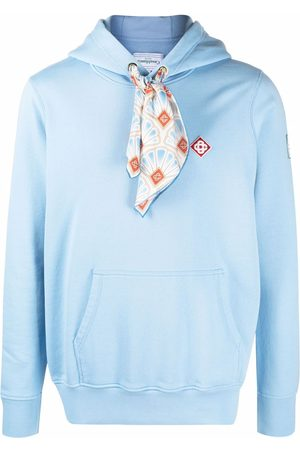 Casablanca Herren Sweatshirts - Scarf-detail hoodie