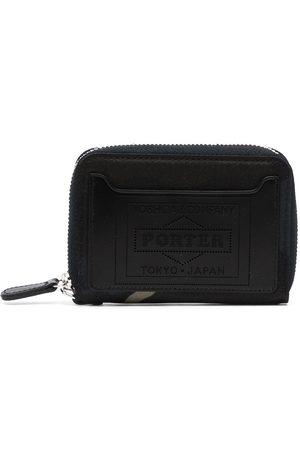 Porter-Yoshida & Co. Camouflage-print leather wallet