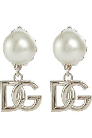 Dolce & Gabbana Ohrringe DG mit Zierperlen