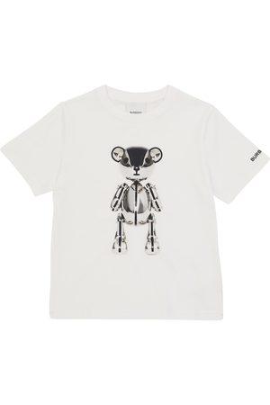 Burberry Kids Bedrucktes T-Shirt aus Baumwolle