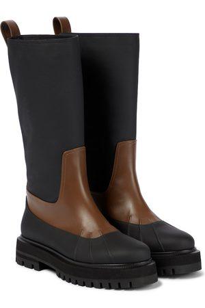 Loro Piana Ankle Boots Regent aus Leder