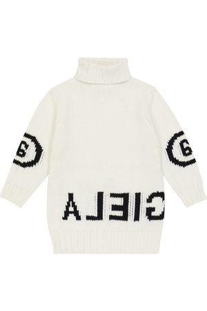 MM6 Maison Margiela Kids Damen Freizeitkleider - Pulloverkleid aus einem Wollgemisch