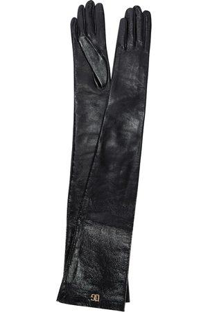Dolce & Gabbana Handschuhe aus Lederimitat