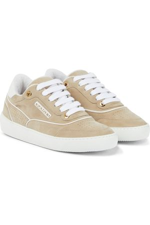 Aquazzura Sneakers A25 aus Veloursleder