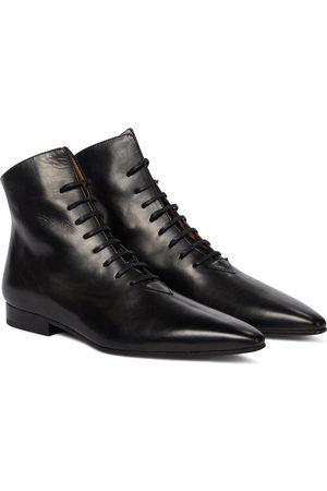 Maison Margiela Damen Stiefeletten - Ankle Boots aus Leder