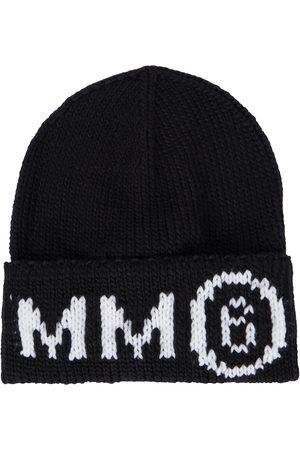 MM6 Maison Margiela Kids Beanie aus einem Wollgemisch
