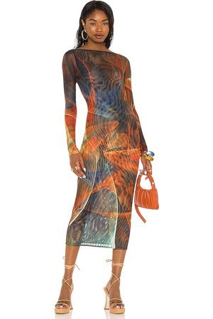 Farai London X REVOLVE Mona Midi Dress in . Size L (also in S, XS, M).
