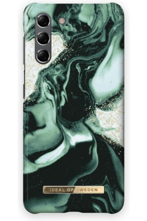 IDEAL OF SWEDEN Handy - Fashion Case Galaxy S21 Golden Olive Marble