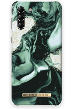IDEAL OF SWEDEN Handy - Fashion Case Galaxy S21 Plus Golden Olive Marble