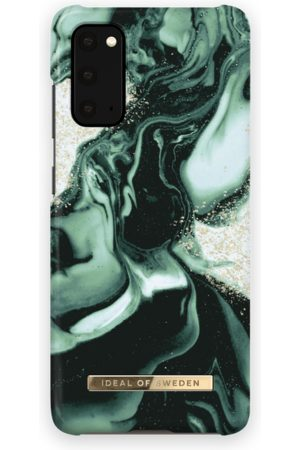 IDEAL OF SWEDEN Handy - Fashion Case Galaxy S20 Golden Olive Marble