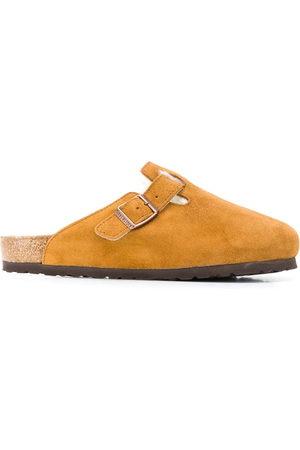 Birkenstock Shearling lined slippers