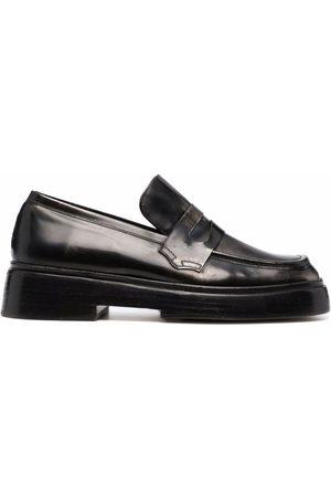 Rejina Pyo Square toe penny loafers