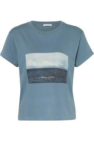 Marc O'Polo Damen Shirts - T-Shirt blau