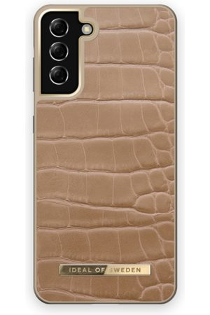 IDEAL OF SWEDEN Handy - Atelier Case Galaxy S21 Plus Camel Croco