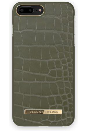 IDEAL OF SWEDEN Handy - Atelier Case iPhone 8 Plus Khaki Croco