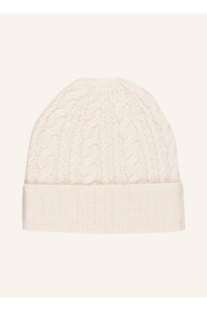 DARLING HARBOUR Damen Mützen - Mütze Mit Cashmere weiss