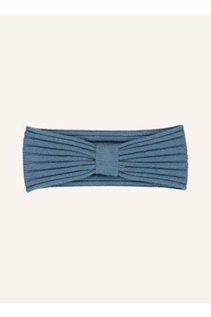 DARLING HARBOUR Damen Mützen - Stirnband Mit Cashmere blau
