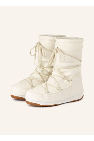 Moon Boot S Mid Rubber Wp weiss