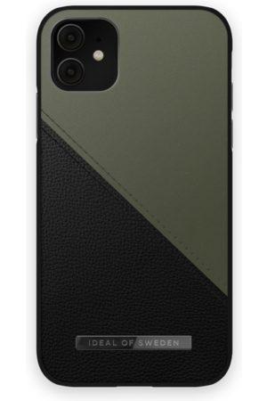 IDEAL OF SWEDEN Atelier Case iPhone 11 Onyx Black Khaki