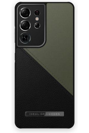 IDEAL OF SWEDEN Handy - Atelier Case Galaxy S21 Ultra Onyx Black Khaki