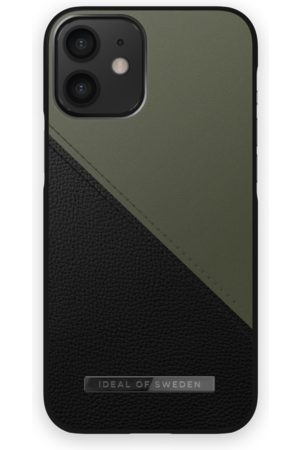 IDEAL OF SWEDEN Handy - Atelier Case iPhone 12 Mini Onyx Black Khaki