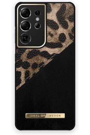 IDEAL OF SWEDEN Handy - Atelier Case Galaxy S21 Ultra Midnight Leopard
