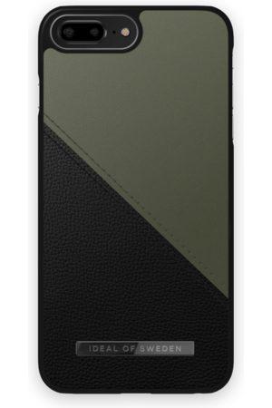 IDEAL OF SWEDEN Handy - Atelier Case iPhone 8 Plus Onyx Black Khaki