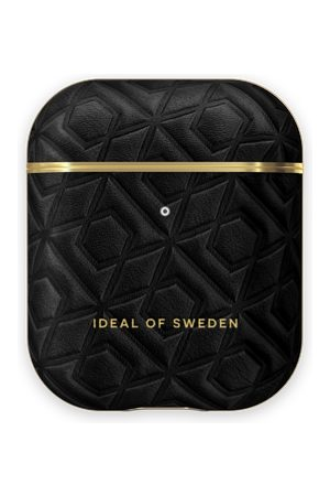 IDEAL OF SWEDEN Handy - Atelier AirPods Case Embossed Black