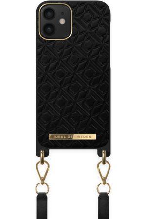 IDEAL OF SWEDEN Damen Handy - Atelier Necklace Case iPhone 12 Mini Embossed Black