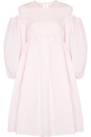 Cecilie Bahnsen Janessa puff-sleeves midi dress
