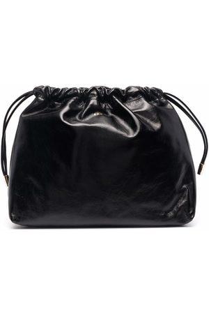 A.P.C. Drawstring-top clutch bag