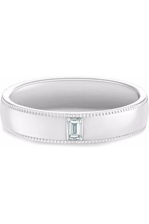 De Beers Herren Ringe - DB Classic Wide Court Poinçon diamond ring