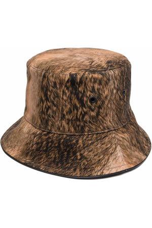Burberry Damen Hüte - Fur print bucket hat