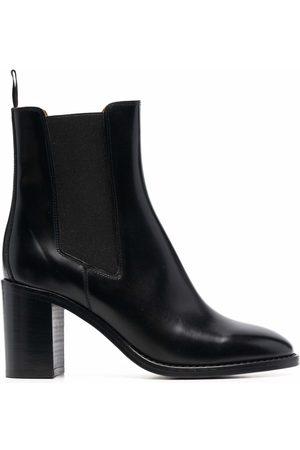 Isabel Marant Block-heel almond-toe ankle boots