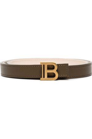 Balmain Damen Gürtel - B-Belt 2cm leather belt