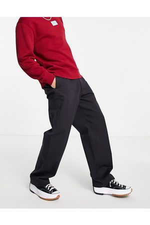 LEVIS SKATEBOARDING Levi's Skateboarding loose fit twill chino trousers in black